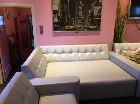 ronde lounge banken